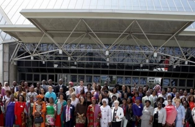 Participants in the African Union Gender Pre-Summit on 2016 African Year of Human Rights, with Particular Focus on the Rights of Women in Addis Ababa | Courtesy of the African Union Commission