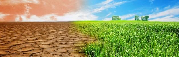 Desert, drought advancing. Photo UNEP