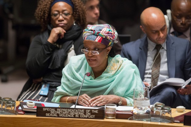 Zainab Bangura, Special Representative of the Secretary-General on Sexual Violence in Conflict. Credit: UN Photo/Loey Felipe.