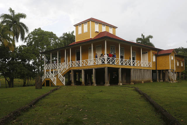 Fidel Castro's childhood home, now the Castro Ruz family museum, in the eastern village of Biran, Cuba. Credit: Jorge Luis Baños/IPS
