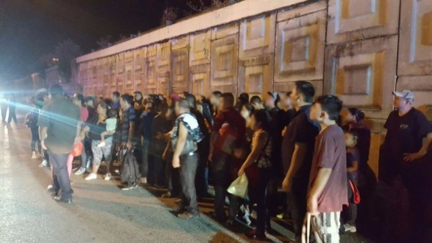 About a hundred Central American migrants crammed into a large truck were rescued in the Mexican state of Tabasco in October. It is not likely that Donald Trump's arrival to the White House will dissuade people from setting out on the hazardous journey to the United States. Credit: Courtesy of the Mesoamerican Migrant Movement