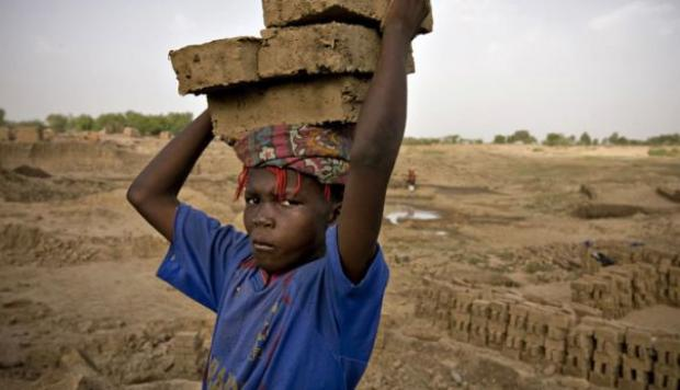 Slavery is still prevalent in a variety of disguises—including human trafficking, child soldiers, forced and early child marriages, domestic servitude and migrant labour—both in the global South (read: developing nations) and the global North (read: Western industrialized nations)