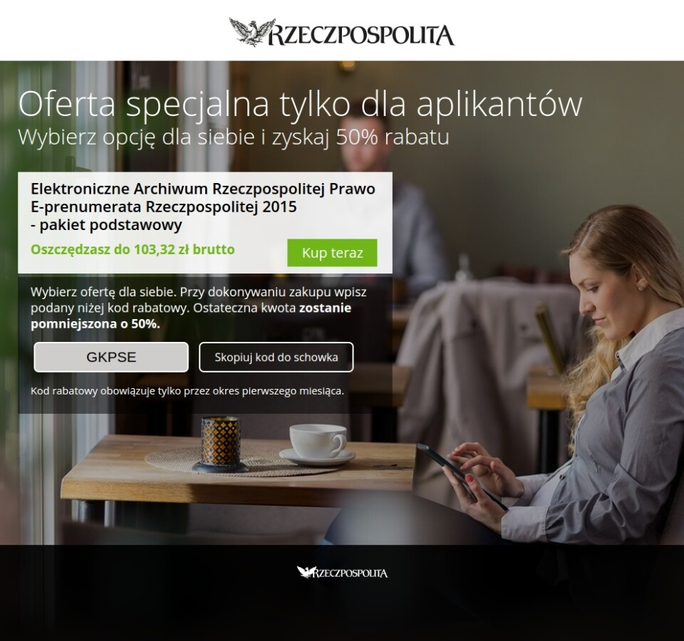 Landingpage<br />Rzeczpospolita / Poland