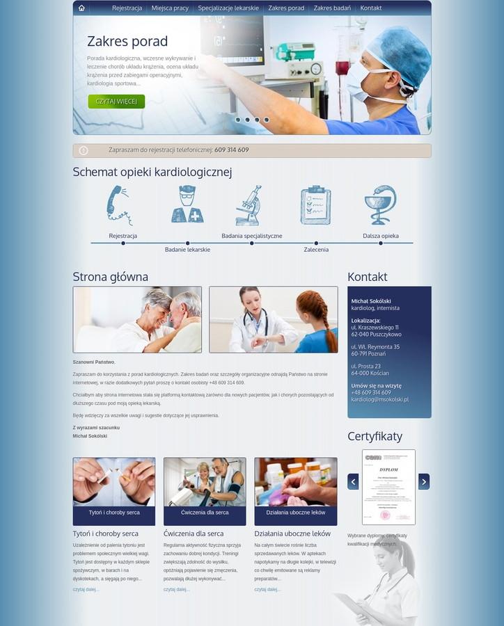 Website Gabinet Kardiologiczny