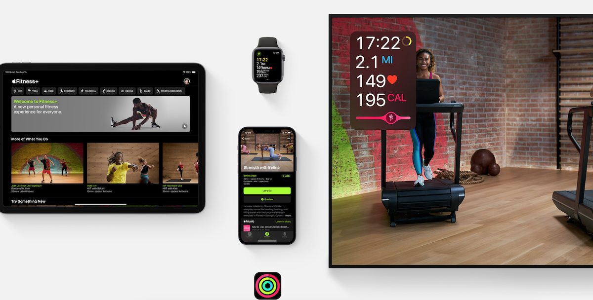 Apple Фитнес +