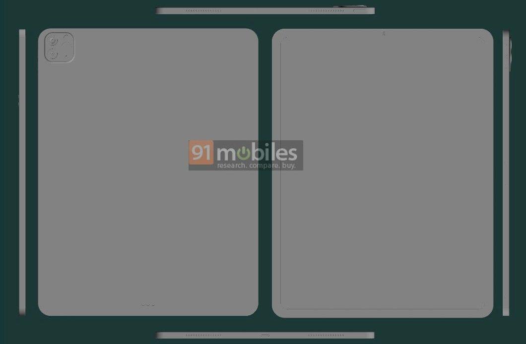 Утечка изображений iPad Pro