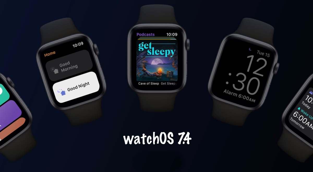 watchOS 7.4