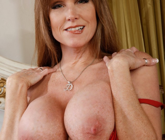 Hot Horny Mom Darla Crane With Big Fake Tits Fucking Two Cocks