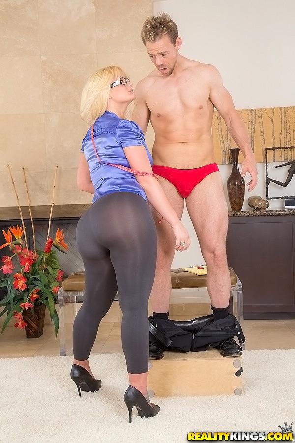 Hot pants milf
