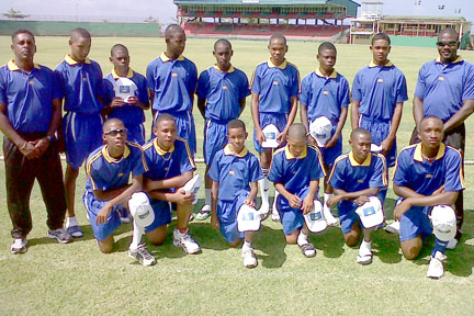 Dominica Had Their 100 Per Cent Record Brought To A Grinding Halt By St. Lucia (Shown).