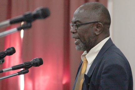 """Parliamentary Representative For Central Kingstown, St. Clair Leacock, Says This Country Should Be """"Washing With Money"""" As A Result Of The Ec$652 Million Project."""