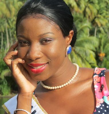 Miss Golden Groove, Shakelia Anthony.