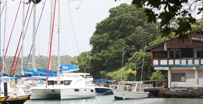 Sunsail St. Vincent Will Reduce Its Dock Spaces By 80 Per Cent. (Iwn Photo0