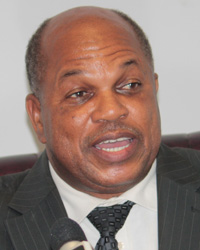 Sen. Linton Lewis, The Ndp'S Candidate For East. St. George. (Iwn File Photo)