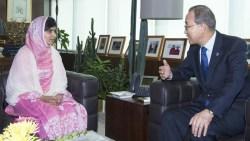 Malala Ban Ki Moon