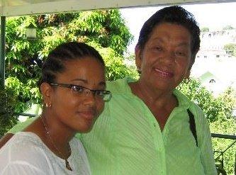 Opposition Senator, Vynnette Frederick, And Her Mother, Daphne Frederick. (Internet Photo)