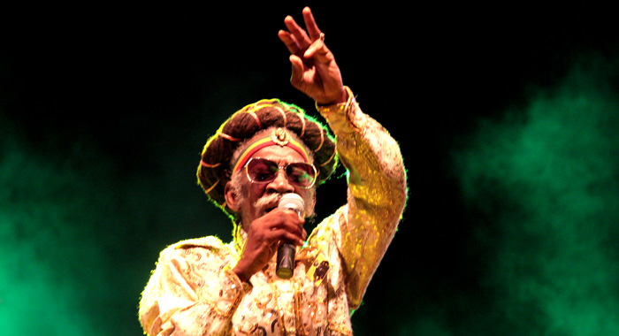 Jamaican Reggea Artiste Bunny Wailer Performs At The Opening Of The Conference. (Iwn Photo)