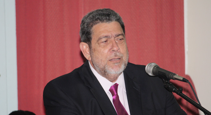 Prime Minister Dr. Ralph Gonsalves Told Parliament &Quot;... It Is Possible For Mining To Resume But Has To Resume Under Certain Specific Conditions&Quot;. (Iwn Photo)