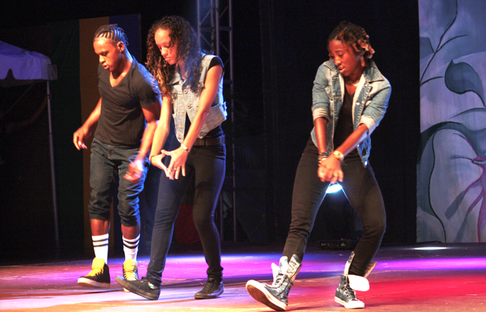 Dancers Compete During Satruday'S Show. (Iwn Photo)