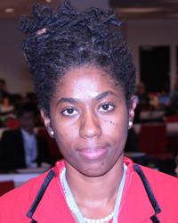 Indi Mclymont-Lafayette Of Panos Caribbean. (Iwn Photo)