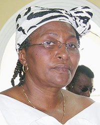 Jennifer Eustace, Wife Of Opposition Leader, Arnhim Eustace. (Internet Photo)