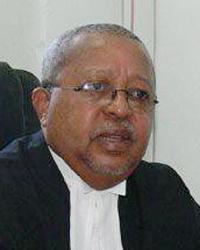 Justice Frederick Bruce-Lyle.