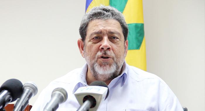 Prime Minister Ralph Gonsalves. (Iwn File Photo)