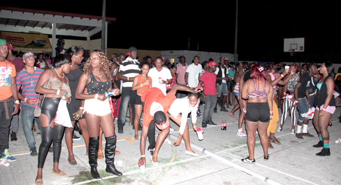 The Turnout At The Soca Fest On Saturday (Pictured) And The Miss Easterval Pageant, Was Signifiantly Lower Than In 2013. (Iwn Photo)