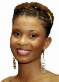 Miss Martinique - Alexandra Chastel.