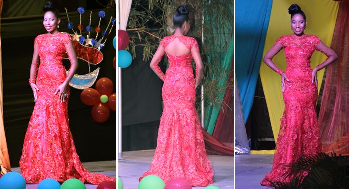 Best Eveningwear Solange Fernandez. (Iwn Photos)