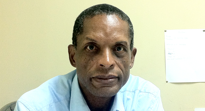 President Of The St. Vincent And The Grenadines Football Federation, Venold Coombs. (Iwn File Photo)