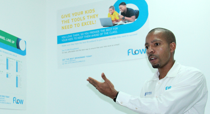 Flow'S Country Manager, Christopher Gordon. (Iwn Photo)