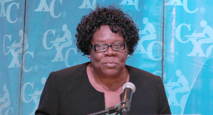 Member Of Parliament For Marriaqua, Girlyn Miguel. (Iwn Photo)
