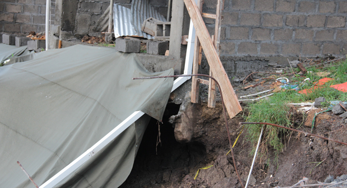 At Least One Of The Column Footing Is Exposed. (Iwn Photo)