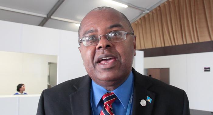 St. Lucia's Minister Of Sustainable Development, James Fletcher. (Cmc/Iwm Image)