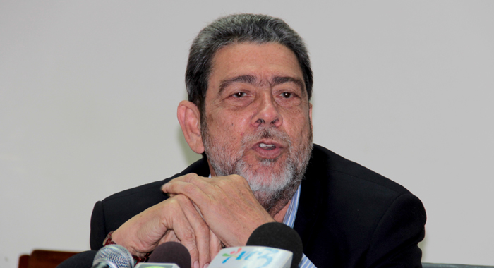 Prime Minister Dr. Ralph Gonsalves. (Iwn File Photo)