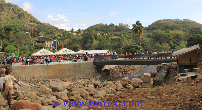 The Ecuadorian-Built Bridge At Hope, Penniston Is The Longest In St. Vincent And The Grenadines. (Iwn Photo)