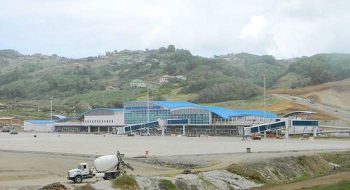 The Us$37 Million Terminal Building At Argyle.