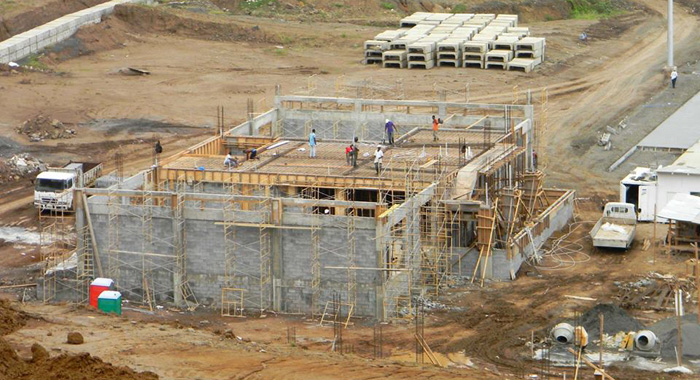 The Cargo Terminal, Seen Here This Month, Is Scheduled To Be Completed By Year-End. (Photo: Faia/Facebook)