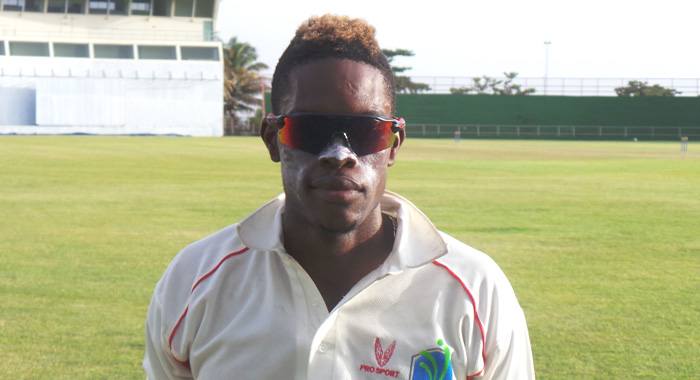 Keron Cottoy Took 5 For 32 In 7 Overs. (Photo: E. Glenford Prescott).