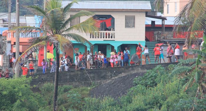 A View Of The Protestors From The Site Of The Rally. (Iwn Photo)