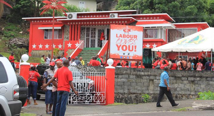 The Unity Labour Party'S Headquarters, Labour House. (Iwn Photo)