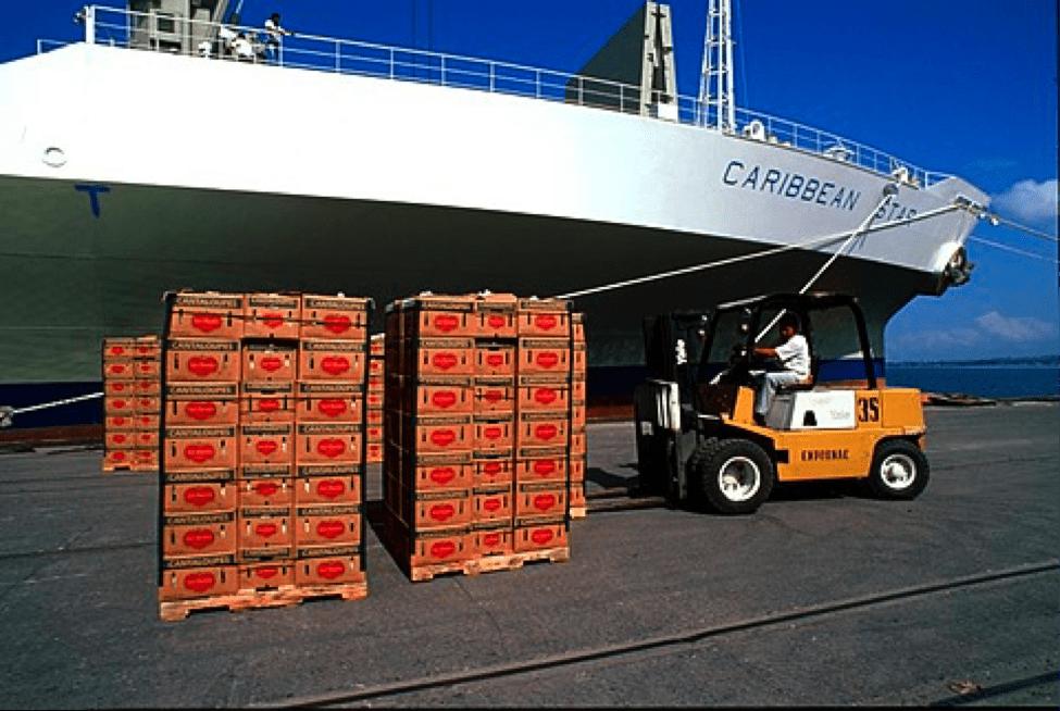 Bananas Shipped By Boat