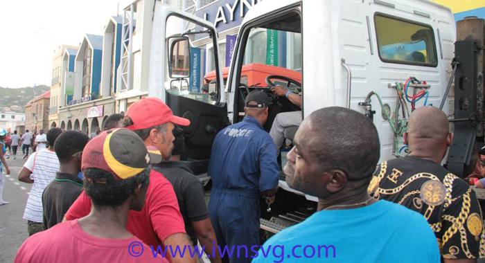 Ahdrenalin Carnival'S Music Truck Broke Down For Several Hours During Mardi Gras 2015.