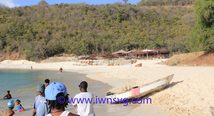 The Dining Area On The Beach Was Constructed Recently. (Iwn Photo)