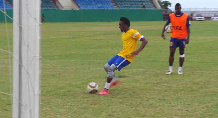 Oalex Anderson Practising Penalties