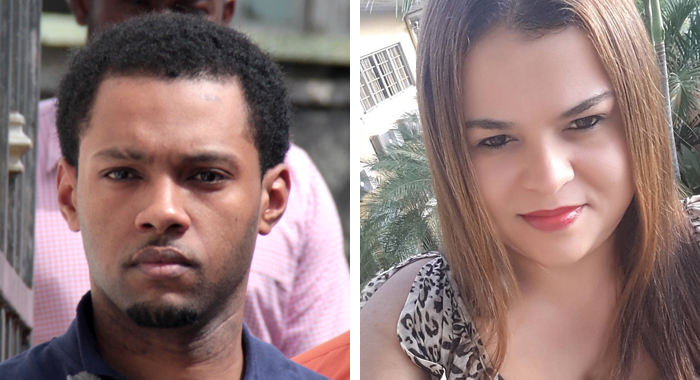 Veron Primus, Left, Has Been Charged In St. Vincent With The November 2015 Murder Of Sharleen Greaves, Left.