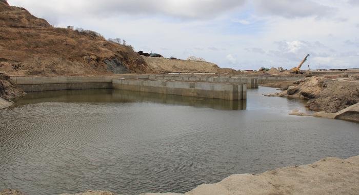 The Glossy Bay Marina Construction Site. (Iwn Photo)