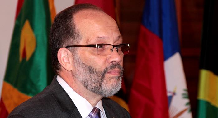 Caricom Secretary General Irwin Larocque. (Iwn Photo)