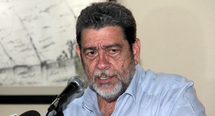 Prime Minister Ralph Gonsalves (Iwn File Photo)